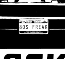 Back To The 80s Delorean  Sticker