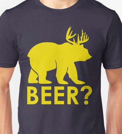 BEER? BEAR? Unisex T-Shirt