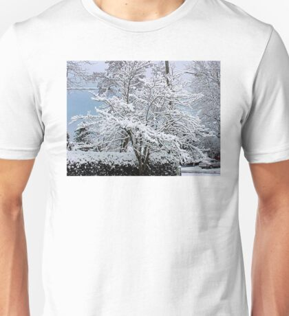 LET IT SNOW LET IT SNOW LET IT SNOW Unisex T-Shirt