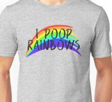 I POOP RAINBOWS Unisex T-Shirt