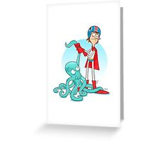 Octo-Wrestlin'! Greeting Card