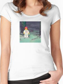 ::: { THE NURSE } ::: Women's Fitted Scoop T-Shirt