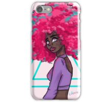Neon Afro iPhone Case/Skin