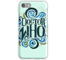 Whimsically Wibbly Wobbly Timey Wimey - Light Shirt iPhone Case/Skin
