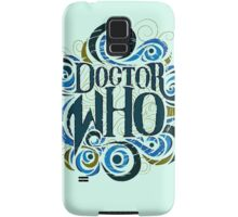 Whimsically Wibbly Wobbly Timey Wimey - Light Shirt Samsung Galaxy Case/Skin