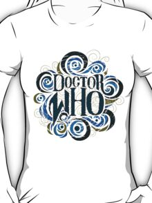 Whimsically Wibbly Wobbly Timey Wimey - Light Shirt T-Shirt
