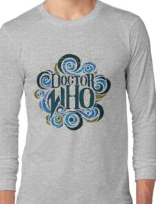 Whimsically Wibbly Wobbly Timey Wimey - Light Shirt Long Sleeve T-Shirt