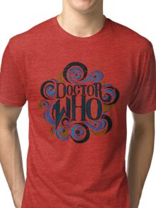 Whimsically Wibbly Wobbly Timey Wimey - Light Shirt Tri-blend T-Shirt