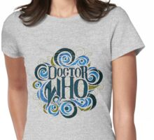 Whimsically Wibbly Wobbly Timey Wimey - Light Shirt Womens Fitted T-Shirt