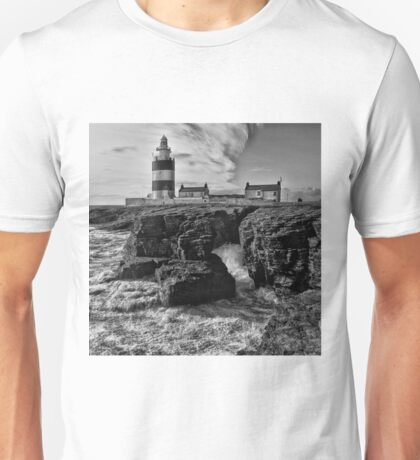 Stormy day at Hook Head Lighthouse  Unisex T-Shirt
