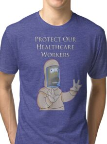Protect Our Healthcare Workers Tri-blend T-Shirt