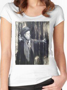 Tom Waits - Making it Rain. Women's Fitted Scoop T-Shirt
