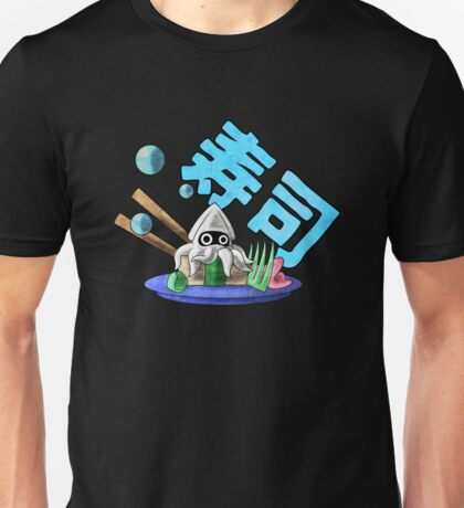 Mushroom Kingdom Squid Sushi Unisex T-Shirt