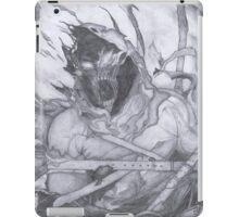 "Disturbed ""Asylum"" Pencil Sketch iPad Case/Skin"