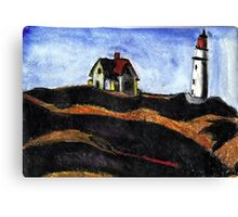 LightHouse (After E.Hopper) Canvas Print