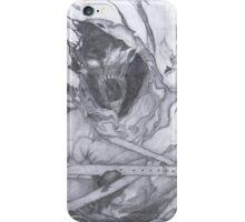 "Disturbed ""Asylum"" Pencil Sketch iPhone Case/Skin"