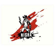 Nisha Art Print