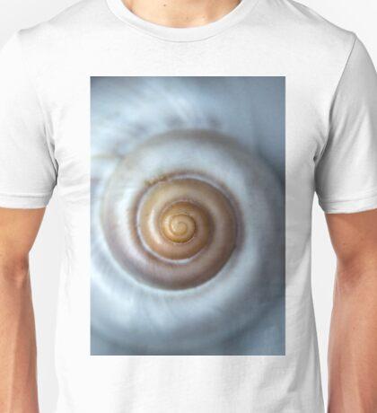 White snail shell Unisex T-Shirt