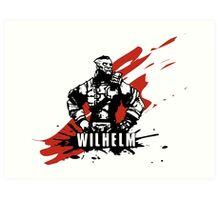 Wilhelm Art Print