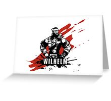 Wilhelm Greeting Card