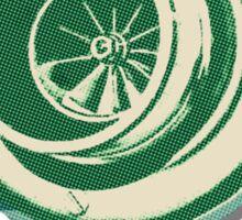 Green Turbo Sticker