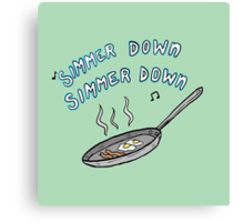 5SOS- simmer down Canvas Print