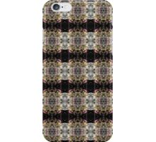 red Malus 'Radiant' crab apple blossoms #4 pattern iPhone Case/Skin