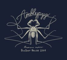 "BugShot Belize 2014 ""Amblypygi"" Whip Spider Shirt Kids Tee"