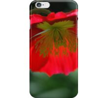 Red Poppy By Lorraine McCarthy iPhone Case/Skin