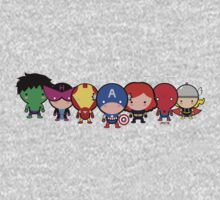 The Cute Avengers Kids Clothes