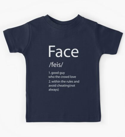 Face definition Kids Tee