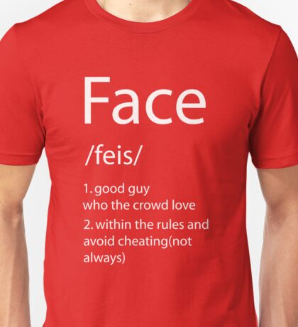 Face definition Unisex T-Shirt