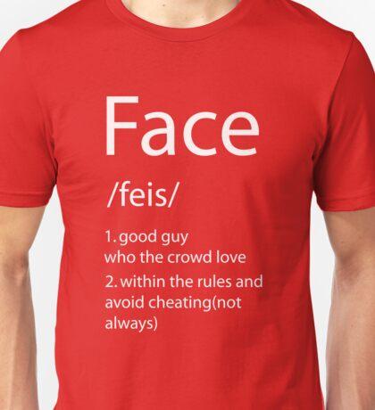 Face definition Unisex T-Shirt