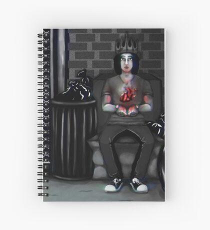 My Ashtray Heart Spiral Notebook
