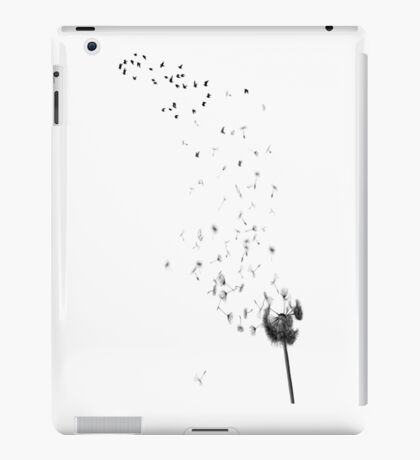 Dandelion morphs to Birds iPad Case/Skin