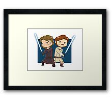Master and Apprentice Framed Print