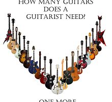 How many guitars does a guitarist need? by crimsonking842