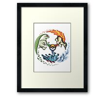I Choose You! (Johto Edition) Framed Print