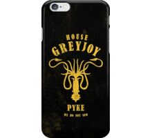 HOUSE GREYJOY 1 iPhone Case/Skin