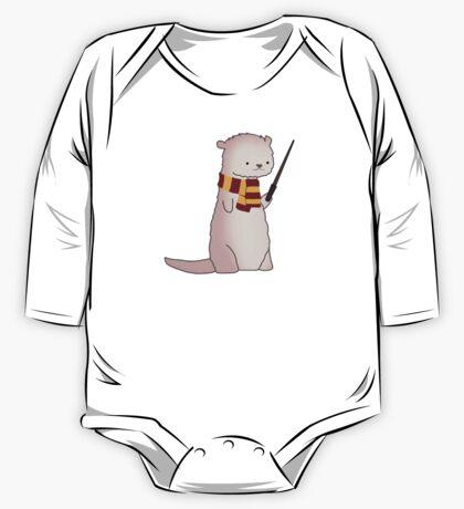 Harry Pawter Otter  One Piece - Long Sleeve