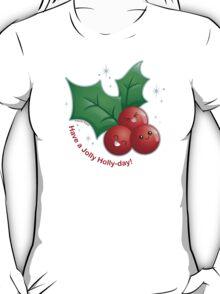 Cute Holiday Holly T-Shirt