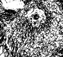 Beast Of The Prairie  Sticker
