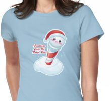 Kawaii North Pole Womens Fitted T-Shirt
