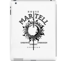 HOUSE MARTELL 1 iPad Case/Skin