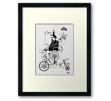 the dickens machine Framed Print