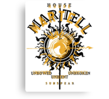 HOUSE MARTELL 2 Canvas Print