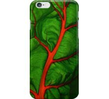 #11        Swiss Chard Leaf iPhone Case/Skin