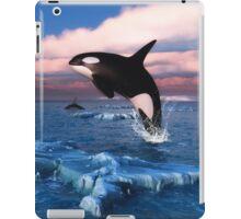 Killer Whales In The Arctic Ocean iPad Case/Skin