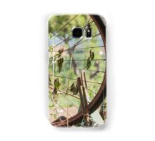 old bicycle in the meadow Samsung Galaxy Case/Skin