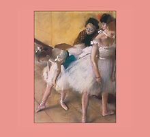 Degas Painting of Dancers by Greenbaby